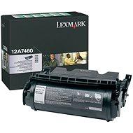 LEXMARK 12A7460 čierny - Toner