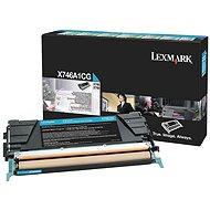 LEXMARK X746A1CG azúrový - Toner