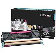 LEXMARK X746A1MG purpurový - Toner