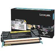 LEXMARK X746A1YG žltý - Toner