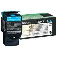 LEXMARK C544X1CG modrý - Toner