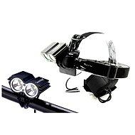 Solight nabíjacie LED cyklo a čelové svietidlo - Svietidlo