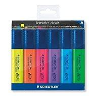 STAEDTLER Textsurfer classic 364, 6ks - Zvýrazňovač