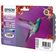Epson T0807 multipack - Súprava cartridge