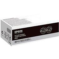 Epson S050711 čierny 2 ks - Toner
