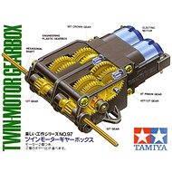SparkFun Dual Motor GearBox (Tamiya) - Stavebnica