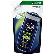 NIVEA MEN Sprchový gél Energy 500 ml, náplň - Pánsky sprchový gél