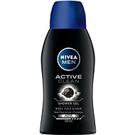 NIVEA MEN Active Clean mini 50 ml - Pánsky sprchový gél