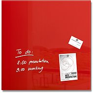SIGEL Artverum 48x48cm červená - Tabuľa