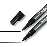SIGEL kriedový 1-2mm čierny - Popisovač