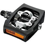 Shimano MTB PD-T400 CLICK'R zarážky SM-SH56 black - Pedále