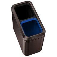 Simplehuman Kôš na triedený odpad 10/10 l, otvorený, dark bronze - Odpadkový kôš
