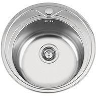 Sinks REDONDO 510 V 0,6mm matný - Drez
