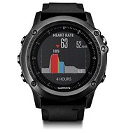 Garmin Fenix 3 Sapphire HR Sivé - Inteligentné hodinky