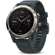 Garmin Fenix 5 Silver, Granite band - Inteligentné hodinky