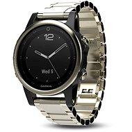 Garmin Fenix 5S Sapphire, goldtone, Metal band - Inteligentné hodinky