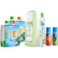 SodaStream Jet Grass Green Tropical Edition 4 + 2 - Súprava