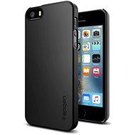 SPIGEN Thin Fit Black iPhone SE/5s/5 - Ochranný kryt