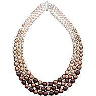 Brown perlový náhrdelník 32009.3 (925/1000, 113,2 g) - Náhrdelník