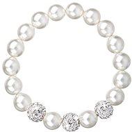 Biely perlový náramok Swarovski 33057.1 - Náramok