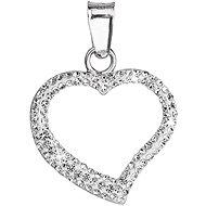 SWAROVSKI ELEMENTS Krystal srdca 34093.1 (925/1000; 0,2 g) - Prívesok