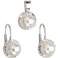 Swarovski Elements Biela perla (925/1000; 4,1 g) - Módna darčeková súprava