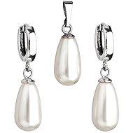 Swarovski Elements Biela perla (925/1000; 6,2 g) - Módna darčeková súprava