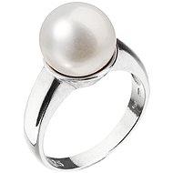 EVOLUTION GROUP 25001.1 stříbrný perlový prsten, vel. 58 - Prsteň
