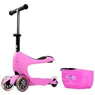 Micro Mini 2go Deluxe ružová - Športové odrážadlo