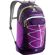 Salomon Contour 25 Cosmic purple / aster purple / gr - Športový batoh