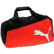 Puma Pre Training Medium Bag black-puma red-w - Taška