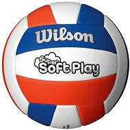 Wilson Super Soft Play Volleyball Red white blue - Lopta