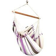 LA Siesta Caribeňa sedačka single purple - Hojdacia sieť