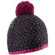 Salomon backcountry BEANIE BLACK / Gaura Pink - Čiapka