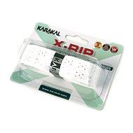 Karakal X-RIP white - Bedmintonový grip