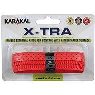 Karakal X-TRA red - Bedmintonový grip