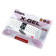 Karakal X-GEL white - Bedmintonový grip