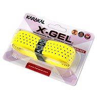 Karakal X-GEL yelow - Bedmintonový grip