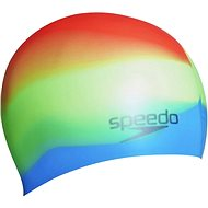 Speedo Multicolor silicon cap - Čiapka