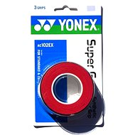 Yonex Super Grap červený - Bedmintonový grip