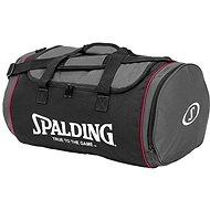 Spalding Tube Šport bag 50 l veľ. M čierno / ružová - Taška cez rameno