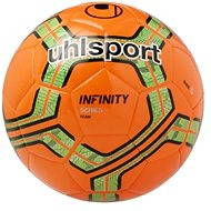 Uhlsport Infinity Team - fluo red / fluo green / Black - vel. 5 - Futbalová lopta