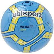 Uhlsport Infinity Team - cyan / fluo yellow / navy - vel. 3 - Futbalová lopta