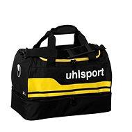 Uhlsport Basic Line 2.0 Players Bag - Black / corn yellow 50 L - Športová taška