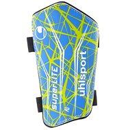 Uhlsport Super Lite - blue / green / white L - Futbalové chrániče