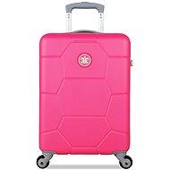 Suitsuit TR-1227/3-S ABS Caretta Shocking Pink - Cestovný kufor