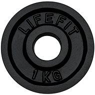 Kotúč Lifefit 1 kg/tyč 30 mm - Kotúč