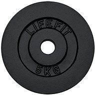 Kotúč Lifefit 5 kg / tyč 30 mm - Fitness doplnok