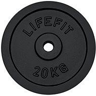 Kotúč Lifefit 20 kg / tyč 30 mm - Fitness doplnok