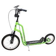"""Lifefit Rider 16""""/12"""" zeleno/čierna - Skladacia kolobežka"""